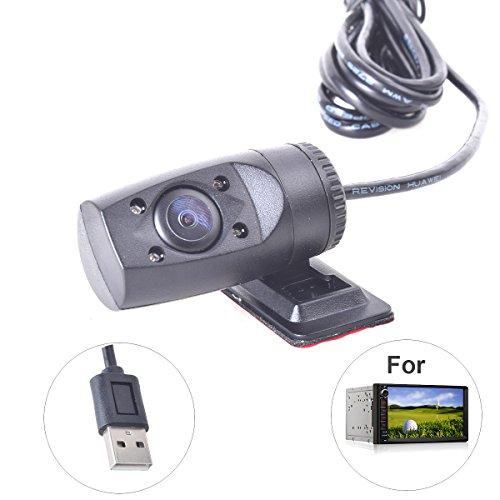 Vision Nocturne DVR USB Dash Caméra avec Lumière IR pour Android Autoradio Stereo Système de Tableau de Bord Voiture Auto