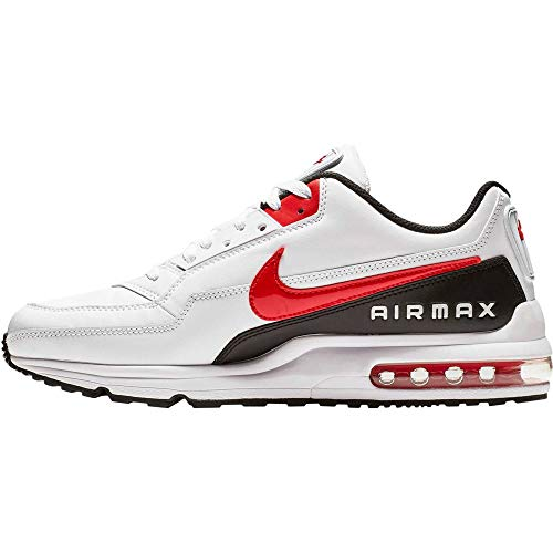 Nike Herren AIR MAX LTD 3 Traillaufschuhe, Mehrfarbig (White/University Red-Black 100), 45 EU