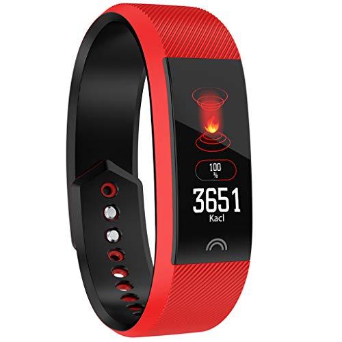 Haludock IP68 Waterproof Long Standby Smart Bracelet Sports Fitness Activity Heart Rate Tracker Blood Pressure Armband -