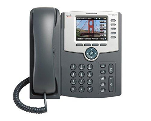 Cisco IP-Telefon mit 5 Leitungen, Farbdisplay, PoE, 802.11 g, Bluetooth (zertifizierte Generalüberholung) (Cisco Ip-telefone)