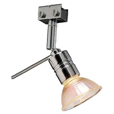 SLV Solo 90 Grad Lampenkopf für Glu-Trax, MR16, maximal 35 W, schwenkbar, chrom 186272 von SLV bei Lampenhans.de