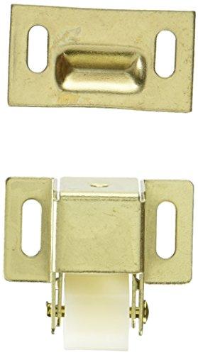 slide-co 241938Schrank und Schrank Roller Catch, Messing vergoldet