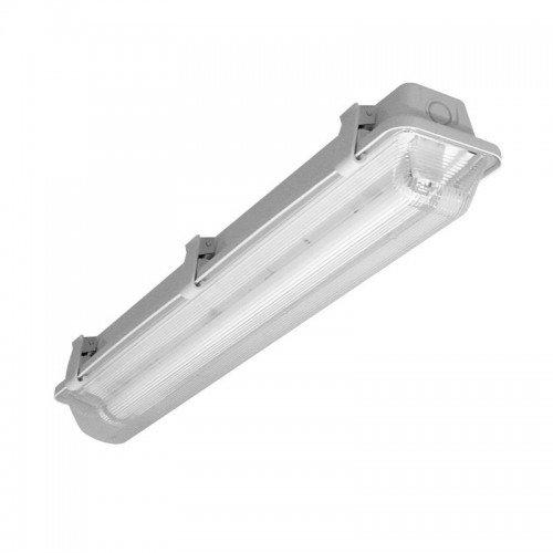 Prilux Cabinet LED - écran étanche/ou tube lED iP65 1 x 24 W 230 V gris