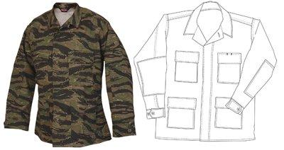 TruSpec - BDU Coat Tru Spec Tiger Stripe