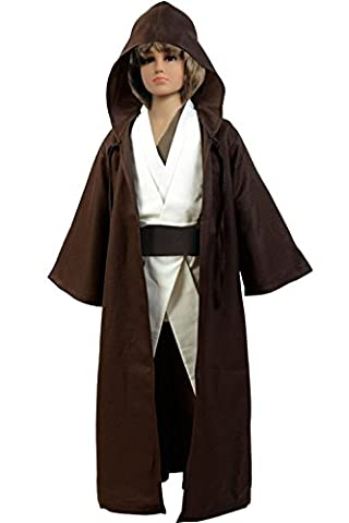 Child's TUNIC Hooded Robe Cloak Knight Fancy Cool Cosplay Costume