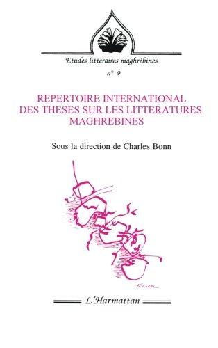 Répertoire international des thèses sur les littératures maghrébines
