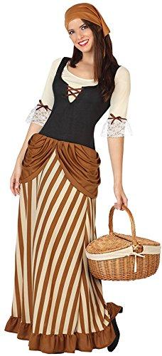 Kostüm Die Bäuerin (Atosa 26189 - Gastwirtin, Damenkostüm, Größe 38/40,)