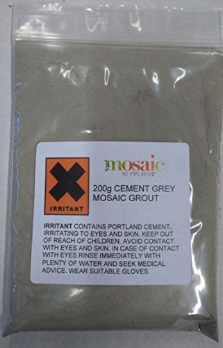 Cement Grey Mosaic Grout 200g