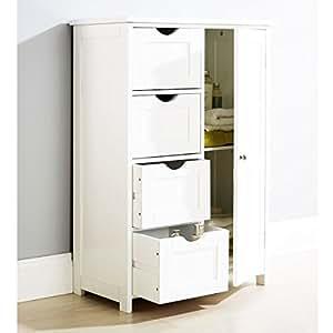 Armoire en bois blanc meuble de rangement pour salle Armoire de rangement chambre