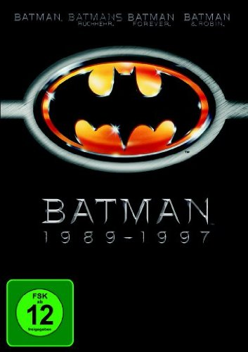 Bild von Batman 1-4 [4 DVDs]