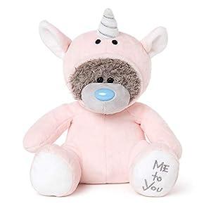 Me To You AP901019 Oso de Peluche con Unicornio Rosa
