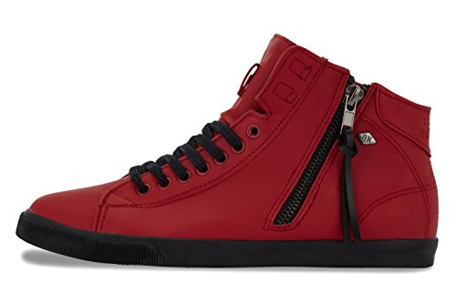 British Knights SOLY DONNE ALTE SNEAKERS Rosso/Nero