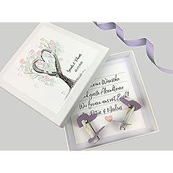 Geldgeschenk zur Hochzeit PERSONALISIERT Tree of Love