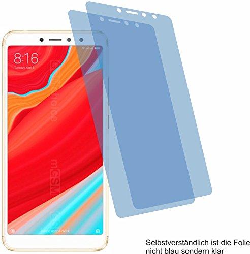 2X Crystal Clear klar Schutzfolie für Xiaomi Redmi S2 Bildschirmschutzfolie Displayschutzfolie Schutzhülle Bildschirmschutz Bildschirmfolie Folie