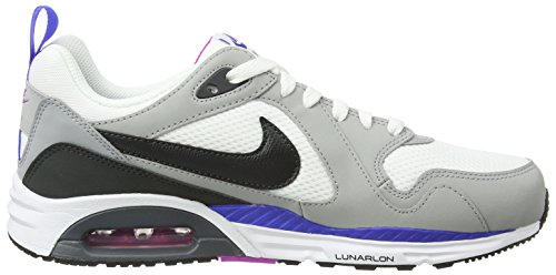 Nike  Air Max Trax, Chaussures de course homme Multicolore - Multicolor (White/Anthracite/Wolf Grey/Fchs Fls)