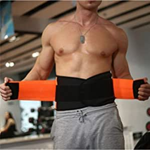 SIGNATRON Multipurpose Weight Lifting Belt for Back Support Comfortable & Durable for Weightlifting, Gym, Workout - 100% Nylon