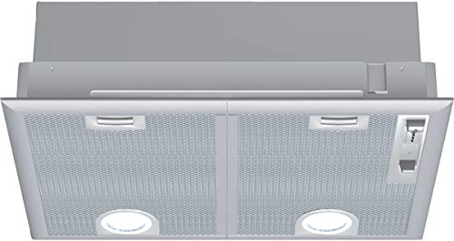 NEFF D5655X1 Einbau-Dunstabzugshaube N30 / 53cm / Abluft oder Umluft/Energieeffizienz C/silbermetallic
