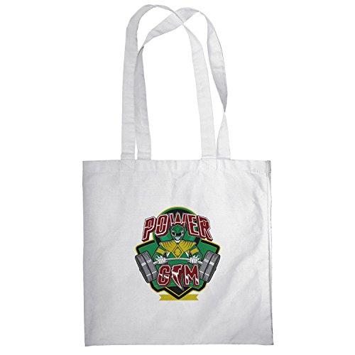 Texlab–Power Gym–sacchetto di stoffa Bianco