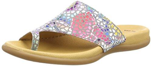 Gabor Shoes Damen Jollys Pantoletten, Grau (Stone), 43 EU