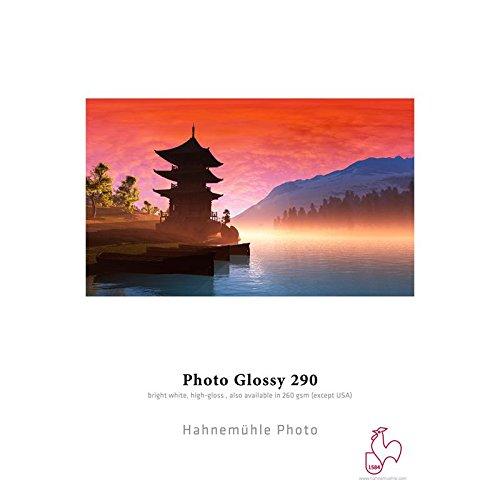 Hahnemühle 10641923 Photo Glossy Papier, 260 g/m², DIN A2, 420 x 594 mm, hellweiß
