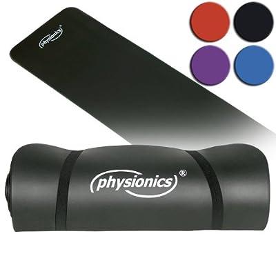 Pilates Yogamatte Gymnastikmatte 190 x 100 x 1,0 cm in verschiedenen Farben