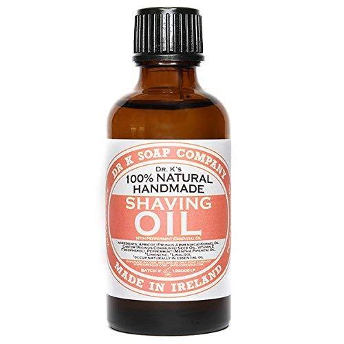 DR K Soap Company Shaving Oil Peppermint 50 ml -
