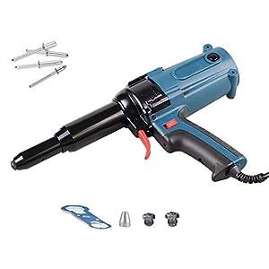 Arma eléctrica del remache, remachadora eléctrica eléctrica de la herramienta eléctrica eléctrica de la herramienta de remachado del arma del remache de 220V 400W