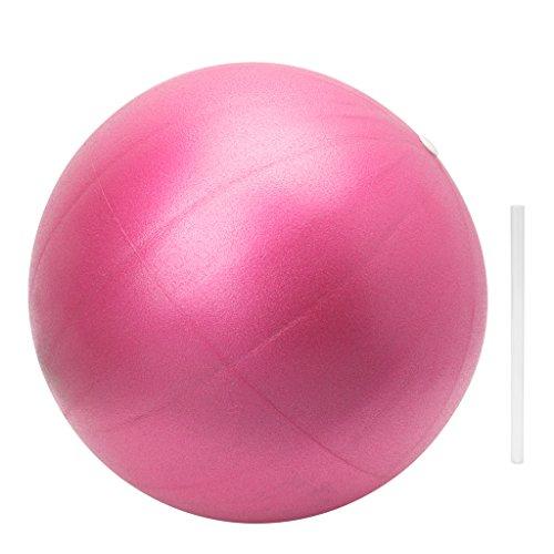 LLLucky 25 cm Pelota de Yoga Pilates Core Training Ball Fitness Ejercicio Equilibrio Ball Birthing Ball