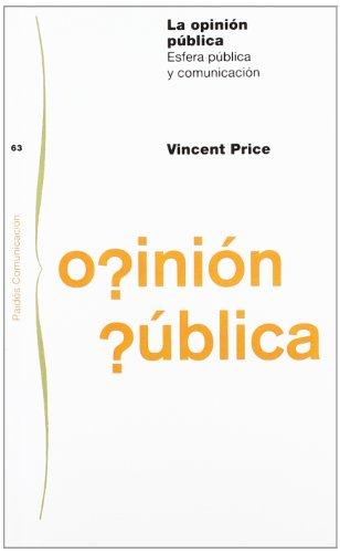 La opinión pública: Esfera pública y comunicación