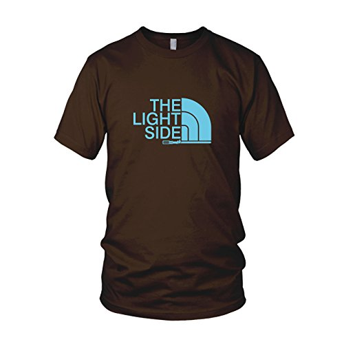 Ideen Kostüm Kinder Nerd (The Light Side - Herren T-Shirt, Größe: L, Farbe:)
