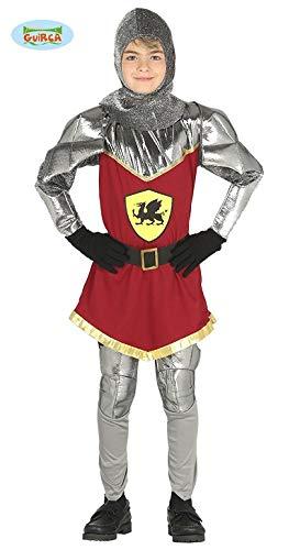 Guirca Costume cavaliere re guerriero medievale carnevale bambino 8757_ 7-9 anni
