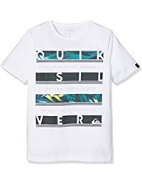 Quiksilver Ssclteytreabetw  Camiseta para chico, Niños, Camiseta, Ssclteytreabetw, crema, M