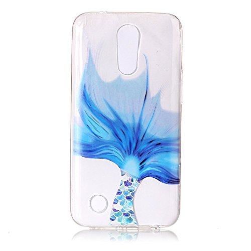 BONROY® Silikon Handy hülle für LG K10 2017 TPU Gummi Taschen Weich Soft Back cover,Ultra Slim Skin TPU Fall-Abdeckung Protective Bumper für LG K10 2017