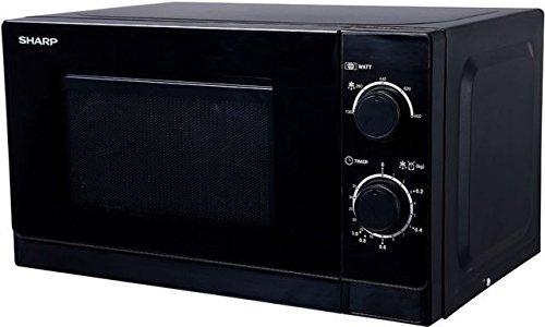 Sharp R-200(BK)W Mikrowelle / 20 L / 800 W