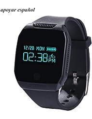 Willful Bluetooth Smart Watch ,Inteligente Pulsera Deportes Grande HD Fitness Tracker,(Ip67 Impermeable, Podómetro, Control Remoto de Cámara , Pantalla Táctil, Seguimiento de calorías, Sleep Monitor )para Android IOS teléfono inteligente