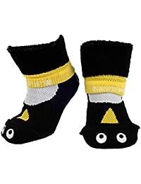 """""""GRIPPA"""" calcetines antideslizantes para niños con diseño pingüino, hechos en Gran Bretaña y aprobado por los principales expertos en la salud del pie del Reino Unido"""