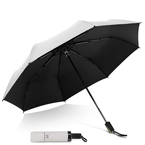 DORRISO Moda Plegable Paraguas Mini Mujer Sombrilla