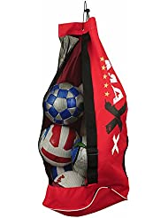 New Heavy Duty Football Netball Rugby 8 / 10 Ball Carry Sack Holdall Bag Boxing