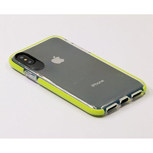 AVIDET Premium TPU Souple Etui de Protection [Ultra mince] [Poids léger] [Anti-rayures] pour iPhone 8 / iPhone8 (Noir) Vert