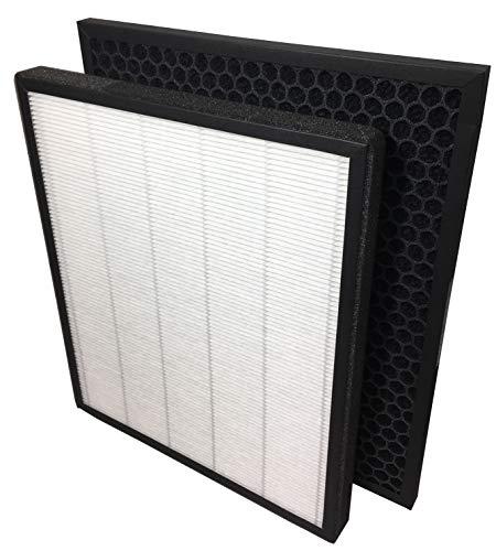 Comedes Ersatzfilterset für Levoit LV-PUR131 Luftreiniger  HEPA und Aktivkohle-Filter   einsetzbar statt Filterset LV-PUR131-RF (1)