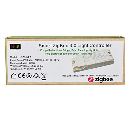 ZigBee 3.0 Smart - Interruttore luce da soffitto o parete per Echo Plus, Hue, SmartThings, Lightify ZigBee Hub per il controllo delle luci normali, con Alexa Google Assistant Voice Control