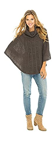 Back From Bali - Poncho - Femme - marron -