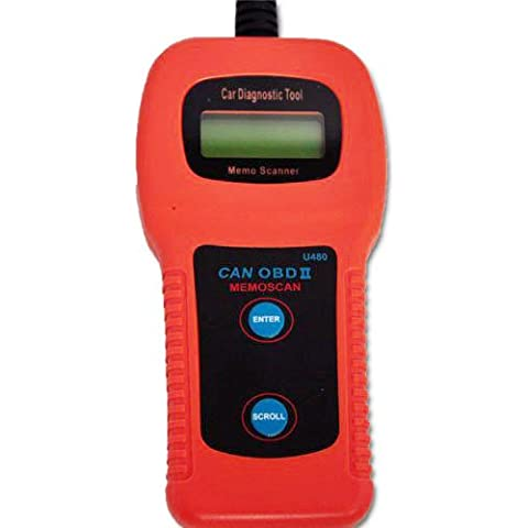 BV Jo U480 CAN-BUS motore OBD2, SCANNER diagnostico OBD 2 canbus Scan Tool