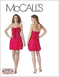 McCall s Patterns M6323 - Cartamodello per Abito da Donna 85649441f0b