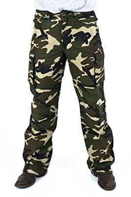 Juicy Trendz 14oz Denim Army Cargo Motorcycle Motorbike Work Trousers Jeans Protection Lining