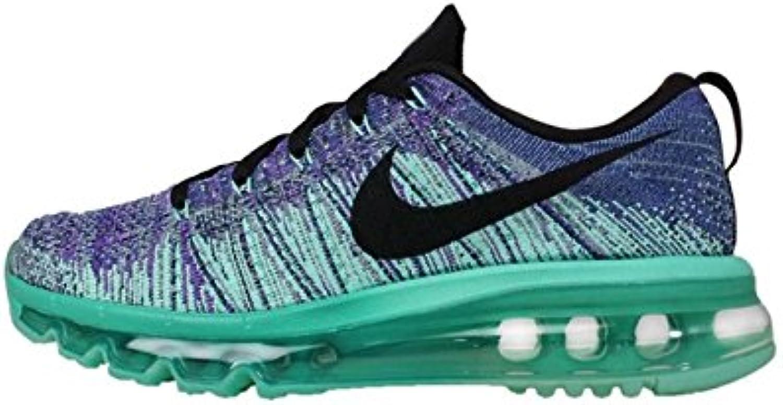Flyknit Max Running scarpe (11,5, (11,5, (11,5, Hyper UVA Nero Iper Turquoise) | Bella Ed Affascinante Della  83998f