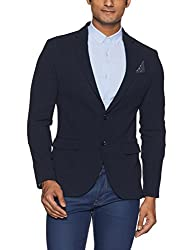 United Colors of Benetton Mens Jacket (8903975452855_17A2FSIC2017I901EL_Blue)