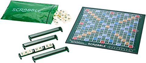 Mattel Jeux cjt13–Scrabble Compact