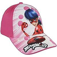 Miraculous, Le storie di Ladybug e Chat Noir 2200002855 Cappello Visiera, Cotone, Bambina, Multicolore (Rosa)