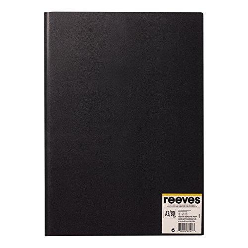 Reeves 8490928 Skizzenbuch - Gebunden, 80 Blatt Zeichenpapier, säurefrei weißes Papier 96 g/m² -...